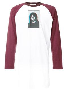 футболка с заплаткой с принтом Givenchy