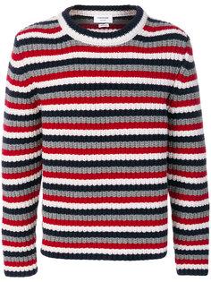 полосатый свитер Thom Browne