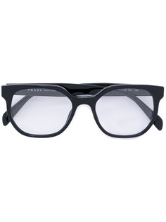 rounded frame glasses Prada Eyewear