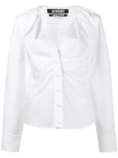 collarless cotton shirt Jacquemus
