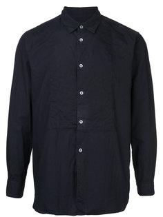inside out ruffle placket shirt Comme Des Garçons Homme Plus