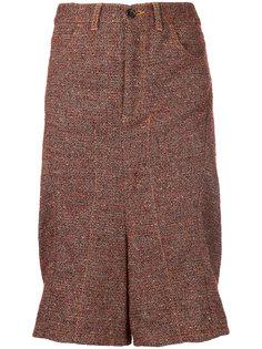 drop crotch flared shorts Junya Watanabe Comme Des Garçons Vintage
