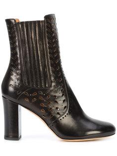 Emilia laser cut boots  Derek Lam