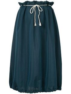 drawstring bell shaped shirt Yohji Yamamoto Vintage