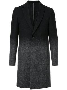 пальто с градиентным узором Kazuyuki Kumagai