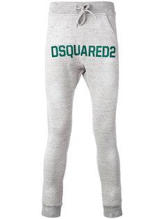спортивные штаны с логотипом Dsquared2