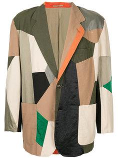 patchwork blazer Issey Miyake Vintage