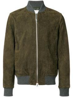 contrast trim bomber jacket  Officine Generale