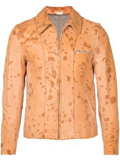 suede splatter jacket Comme Des Garçons Homme Plus