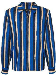 mesh striped jacket Comme Des Garçons Homme Plus