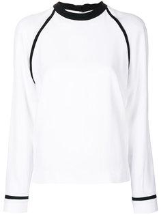 блузка с бантом  MSGM