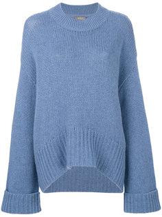 свободный свитер N.Peal