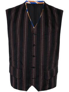 striped buttoned vest Comme Des Garçons Homme Plus