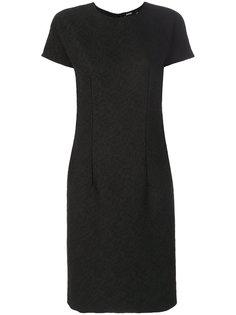 фактурное приталенное платье  Aspesi