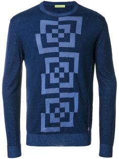 свитер с круглым вырезом Versace Jeans