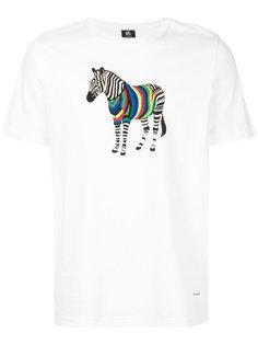 футболка с принтом жирафа Ps By Paul Smith