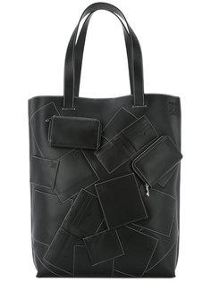 вертикальная сумка-тоут Loewe