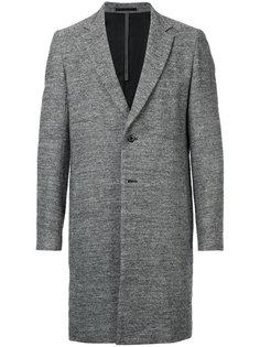 однобортное пальто Kazuyuki Kumagai