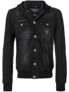джинсовая куртка с капюшоном Philipp Plein