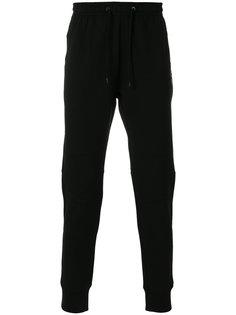 спортивные брюки с вышивкой Fendi