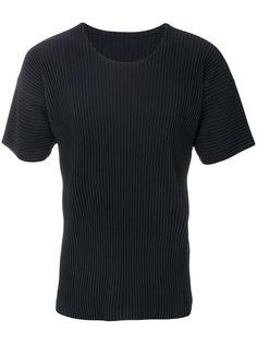 футболка с круглым вырезом Homme Plissé Issey Miyake