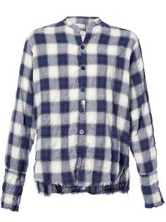 checked shirt Greg Lauren