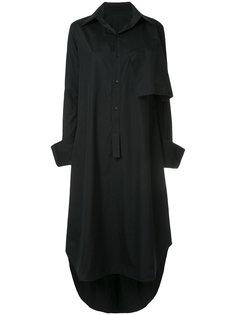asymmetric shirt dress Yohji Yamamoto Vintage