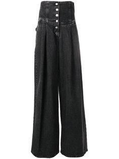 джинсы с завышенной талией  Sara Battaglia