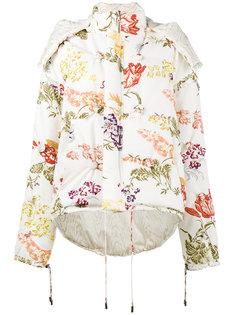 двухсторонняя дутая куртка с цветочным принтом  Rosie Assoulin