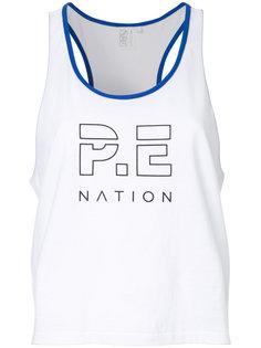 укороченный топ Iceman P.E Nation
