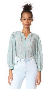 Rebecca Taylor Serra Floral Top