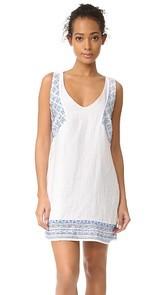 OndadeMar Embroidered & Embellished Short Dress