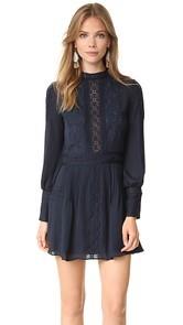 Haute Hippie Victorian Mini Dress