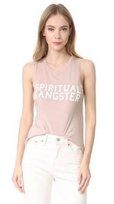 Spiritual Gangster SG Varsity Muscle Tank