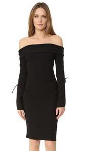 Bec & Bridge Winkworth Long Sleeve Lace Up Dress