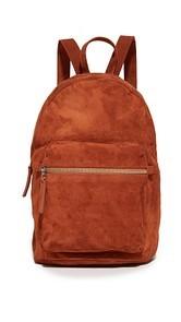 BAGGU Suede Backpack