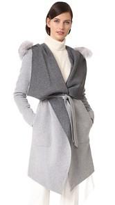 Soia & Kyo Samia Reversible Coat