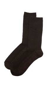 Madewell Sheer Sparkle Trouser Socks
