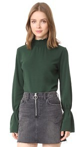Blank Denim Green Pastures Top
