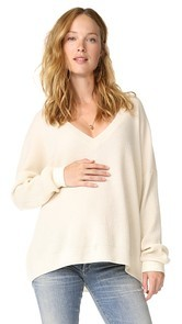 HATCH Easy V Neck Sweater