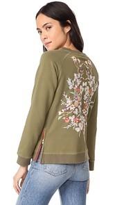 Etienne Marcel Natalie Embroidered Sweatshirt