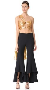 Maria Lucia Hohan Brylee One Shoulder Top