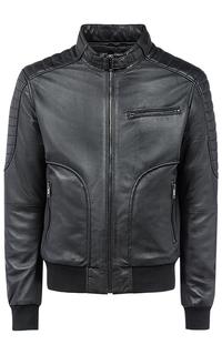 Утепленная куртка из натуральной кожи Urban Fashion for men