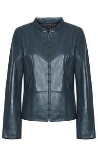 Куртка-жакет из натуральной кожи LE Monique