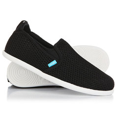 Слипоны Native Cruz Jiffy Black/Shell White