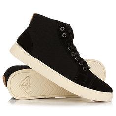Кеды кроссовки высокие женские Roxy Melbourne Black