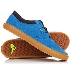 Кеды кроссовки низкие детские Quiksilver Burc Blue/Brown
