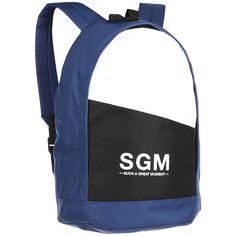 Рюкзак городской S.G.M. B336 Blue/White/Black SGM