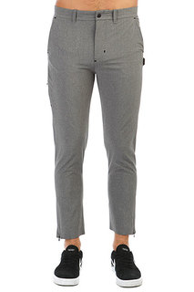 Штаны прямые Quiksilver Amahai Light Grey Heather