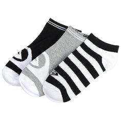 Комплект носков женский Roxy Ankle Socks Anthracite